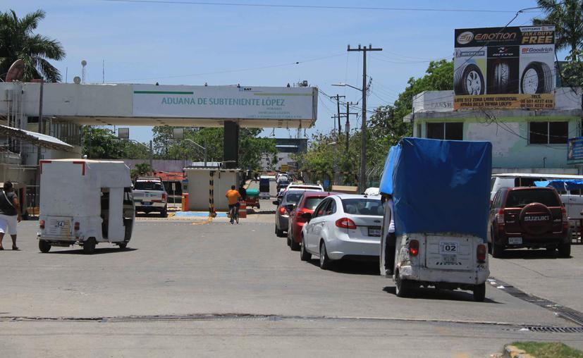 Chetumal: Facilitan trámites en aduana de Subteniente López