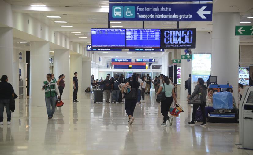 Aeropuerto de Cancún encabeza flujo de pasajeros pese a emergencia mundial por Covid-19