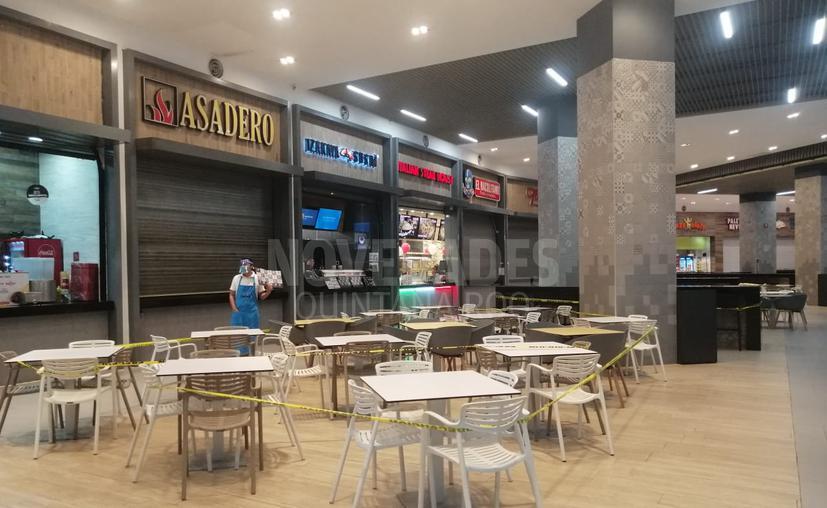 Así luce plazas Las Américas de Cancún con la nueva normalidad