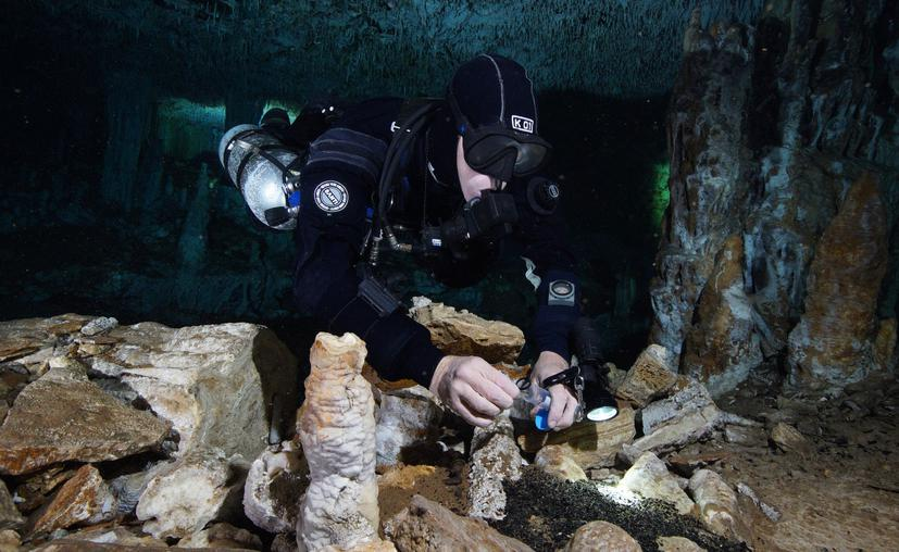"""Chetumal: INAH bautiza a los restos humanos hallados como """"La Banda de Tulum"""""""