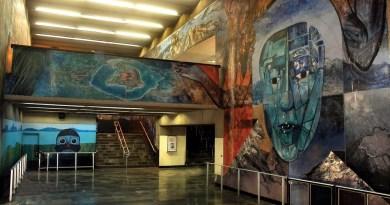 El pintor que llevó el muralismo al metro cumple 81 años