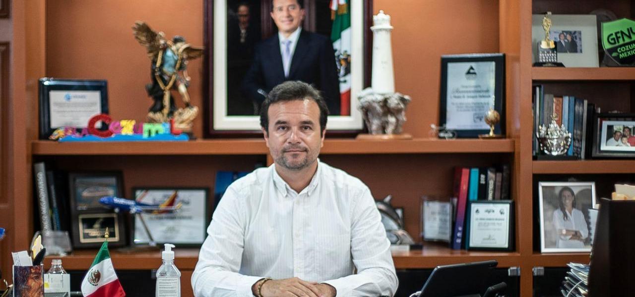 Para no retroceder en el semáforo epidemiológico, exhorta Pedro Joaquín a la población de Cozumel a cumplir de manera estricta las medidas encaminadas a la nueva normalidad