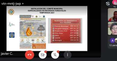 INSTALAN EN ISLA MUJERES EL COMITÉ MUNICIPAL ESPECIALIZADO EN INCENDIOS FORESTALES TEMPORADA 2021