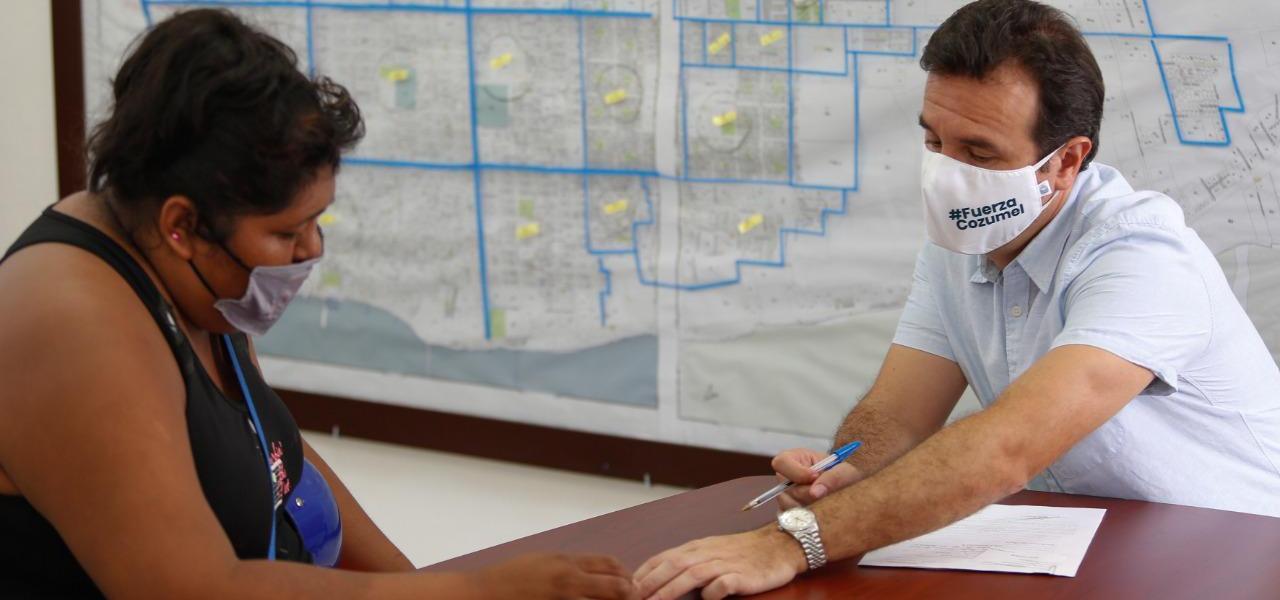 Mantiene Pedro Joaquín gestión social activa en beneficio de la gente vulnerable de Cozumel
