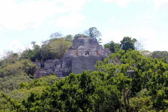 Pirámides de Calakmul, majestuoso tesoro ancestral en Chetumal