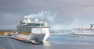 Van por nuevo muelle de cruceros en Cozumel