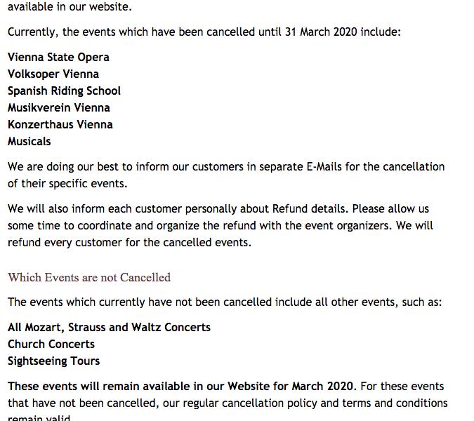 Ópera de Viena suspende funciones hasta el 31 de marzo por coronavirus