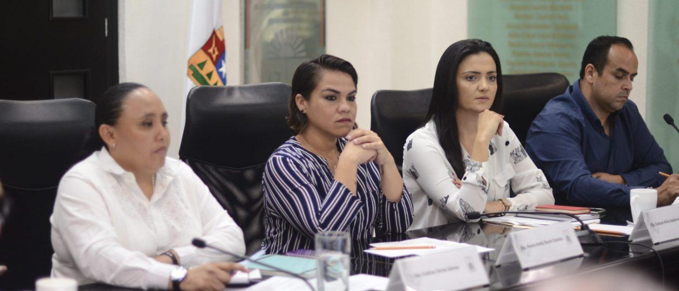 Reciben legisladores a integrantes del Colegio de Arquitectos de Tulum