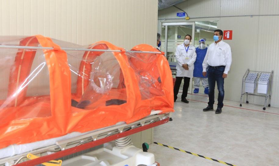 Tamaulipas cuenta con 2 hospitales más para atención COVID-19