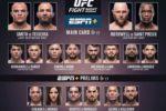 SMITH vs TEXEIRA: dónde y cuándo ver, UFC Fight Night 173