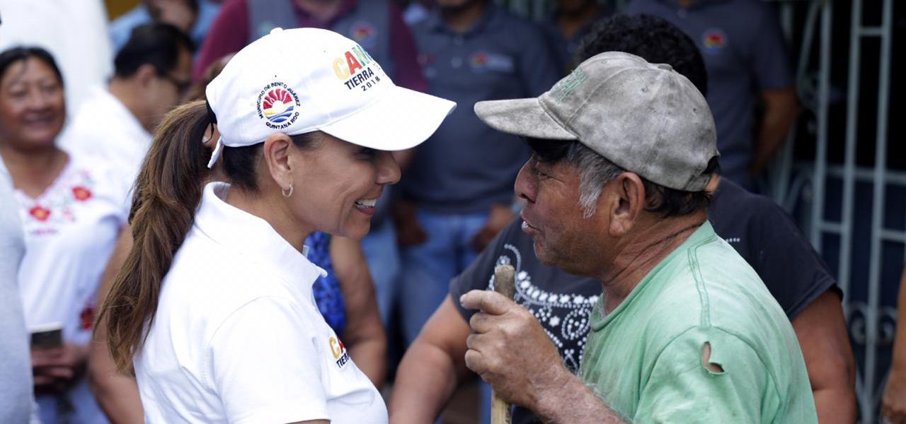 Mara Lezama encabeza brigada de limpieza del Plan Integral ECOnéctate