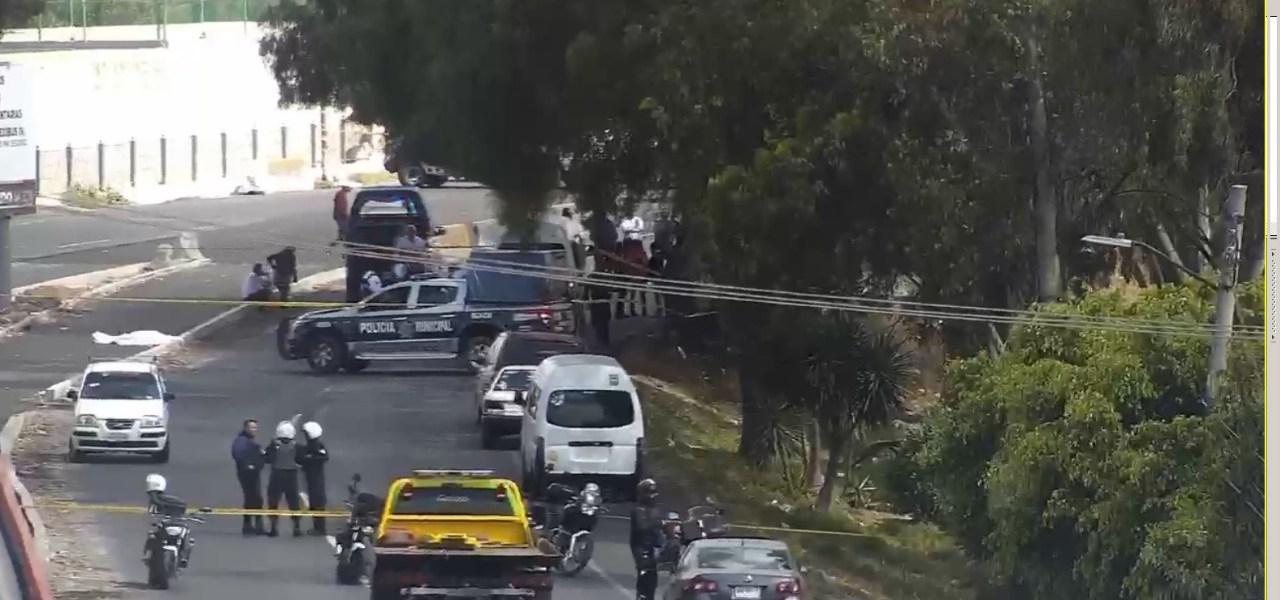 Deja un muerto asalto a combi en Ecatepec (VIDEO)