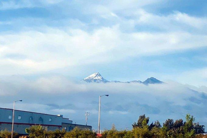 Popocatépetl, Pico de Orizaba, Nevado de Toluca… se cubren de nieve