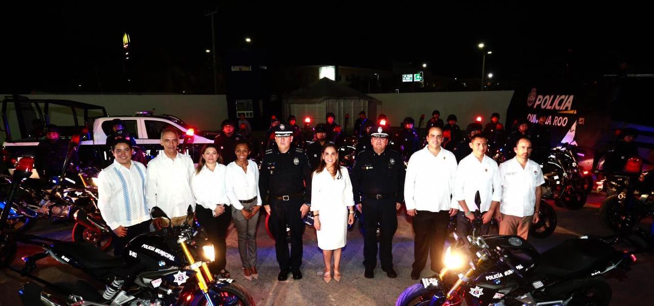 REFUERZA MARA CON 29 UNIDADES A LA POLICÍA PREVENTIVA