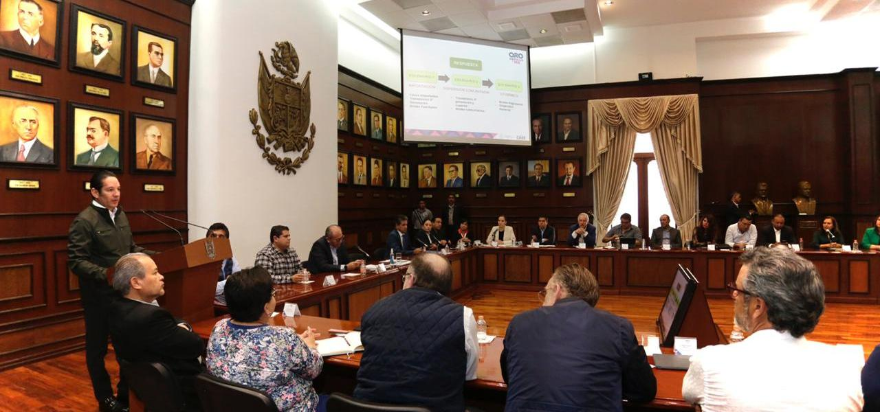 Anuncia el gobernador de Querétaro suspensión de clases a partir de próximo miércoles 18 de marzo