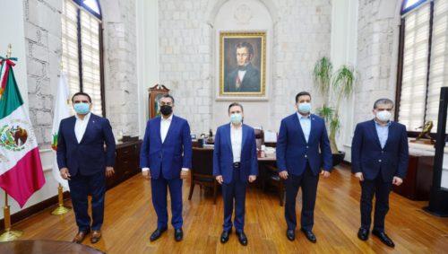 Urge Aureoles a presentar controversia constitucional contra Ley de Coordinación Fiscal
