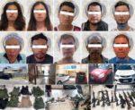 Caen 10 de grupo criminal en Guanajuato