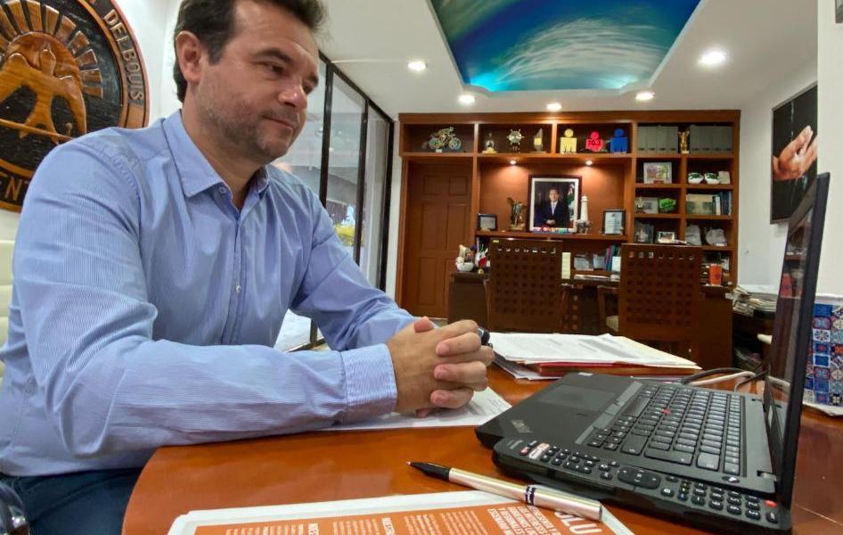 Ante representantes de la ONU, presenta Pedro Joaquín su Plan Estratégico de Reactivación Económica y Turística de Cozumel