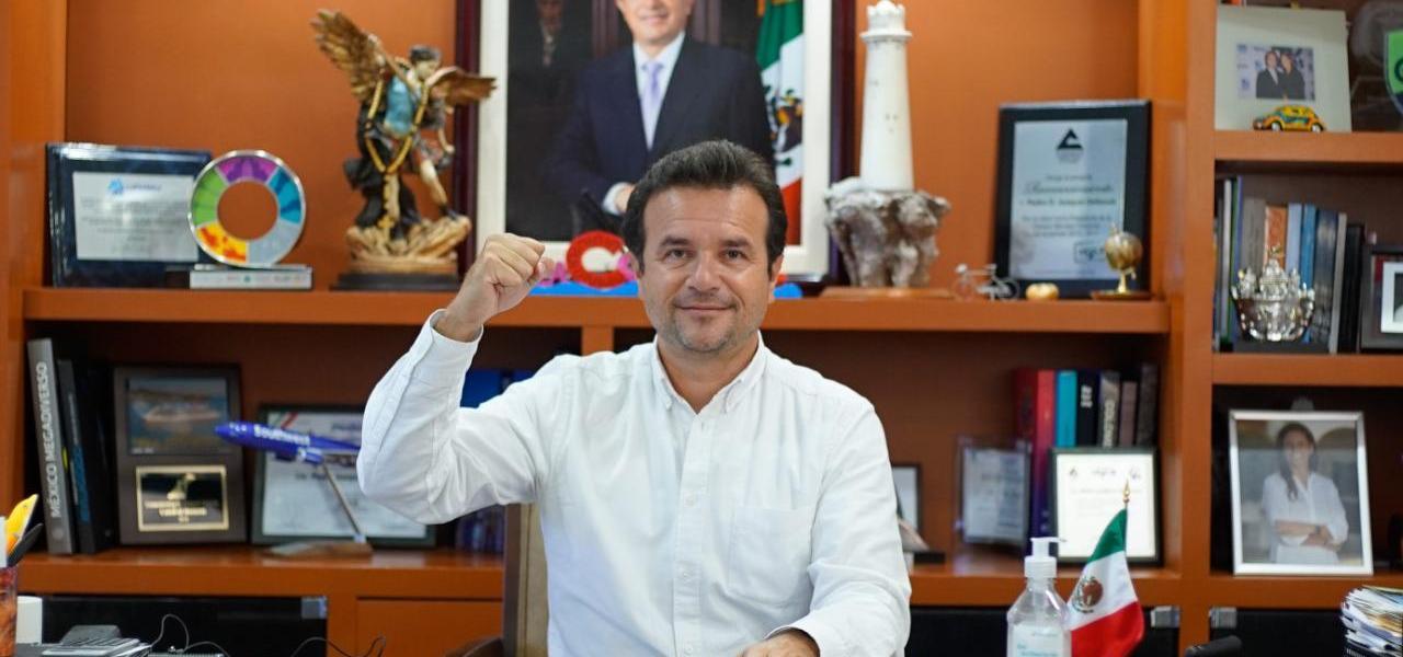 En Cozumel gobernamos sin distingos partidistas, la seguridad es ejemplo de ello y no vamos a bajar la guardia por mezquindad política y partidista: Pedro Joaquín