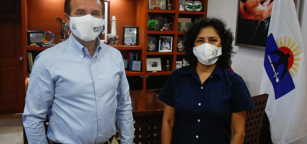 Reconoce Secretaria Ejecutiva del Sipinna Quintana Roo acciones del Gobierno de Pedro Joaquín en pro de las niñas, niños y adolescentes de Cozumel
