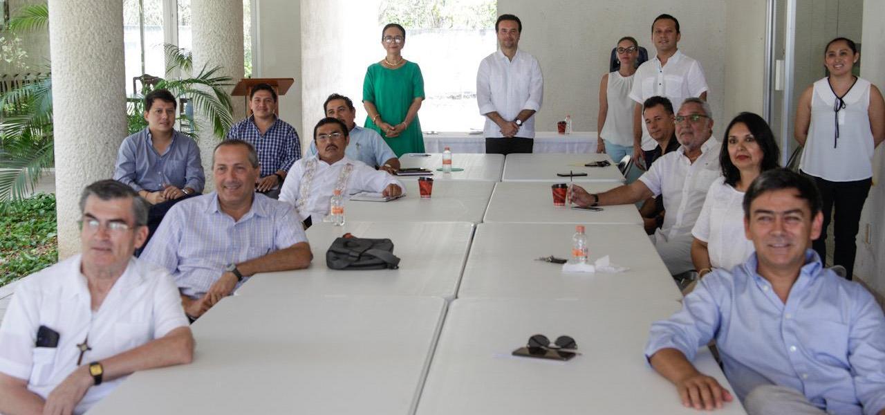 En Cozumel suma Pedro Joaquín a la sociedad civil para hacer frente al Covid-19