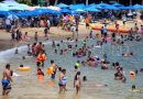 Pese a COVID-19, turistas llegan a Acapulco para olvidarse de pandemia (FOTOS)