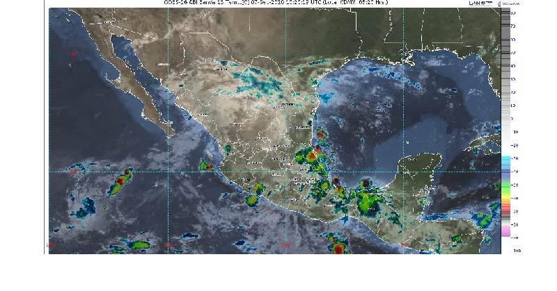 Pronóstico del clima para Quintana Roo