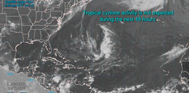 Lluvias estarán afectando la zona norte de Quintana Roo
