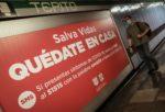 Metro cierra estaciones para evitar aglomeración este 10 de Mayo