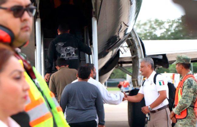 Deportan a migrantes tras enfrentamiento en Chiapas