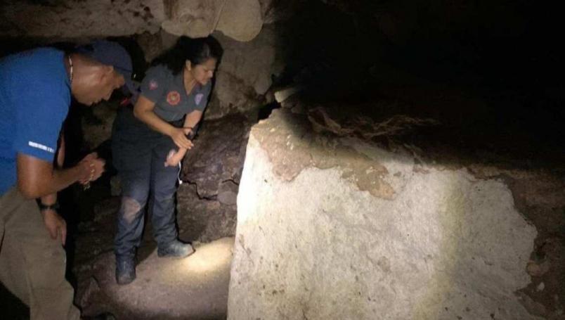 VIDEO: Descubren ruinas mayas dentro de cenote en Playa del Carmen