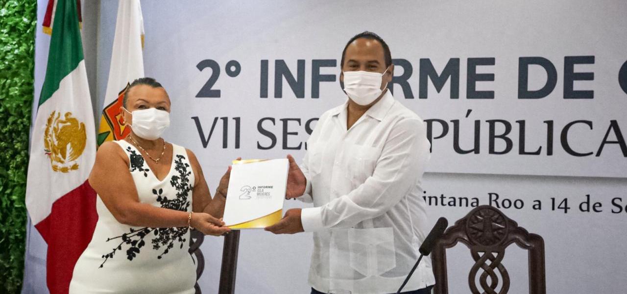 PRESENTA JUAN CARRILLO SU SEGUNDO INFORME DE GOBIERNO