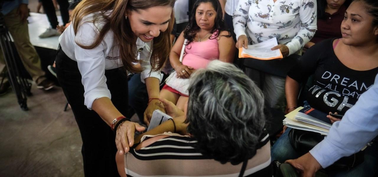 """""""SERVIR ES MI PASIÓN"""": LLEVA MARA LEZAMA SOLUCIONES A LA 228"""