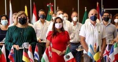 CUERPO DIPLOMÁTICO RECONOCE ESFUERZO DEL MUNICIPIO DE BENITO JUÁREZ DURANTE LA PANDEMIA