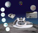 Urea de astronautas, materia prima para construir base lunar
