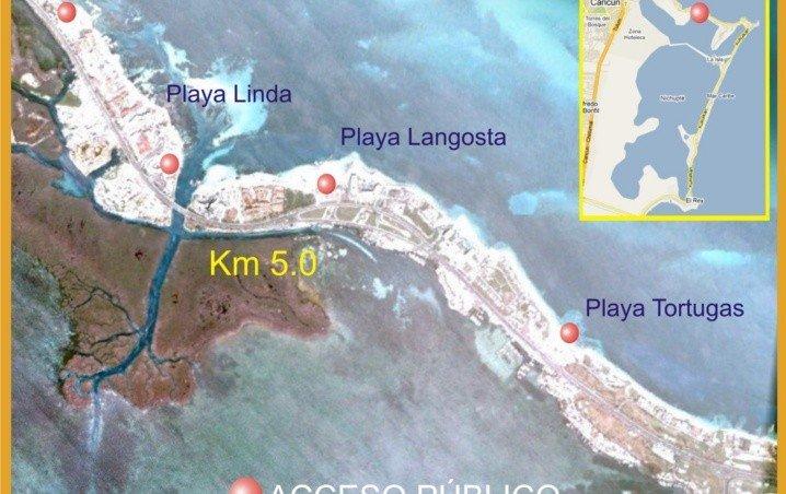 Cancún: Playas Limpias de Sargazo hoy 24 de junio de 2020