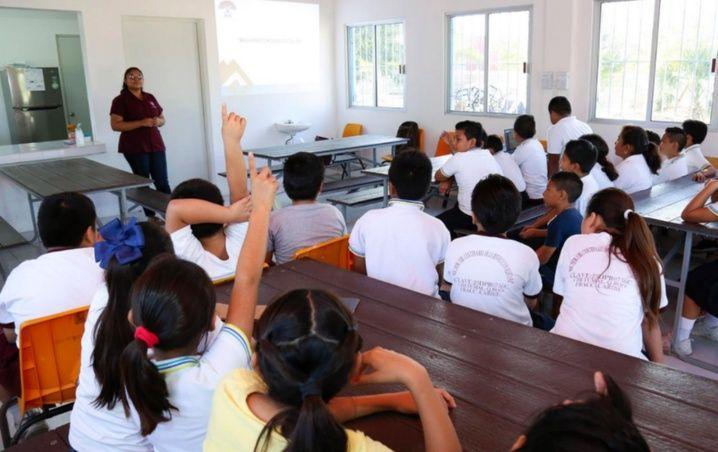 Sana distancia, futuro dolor de cabeza escolar en Quintana Roo