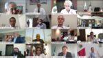 Segob y gobernadores analizan medidas sanitarias para la reapertura