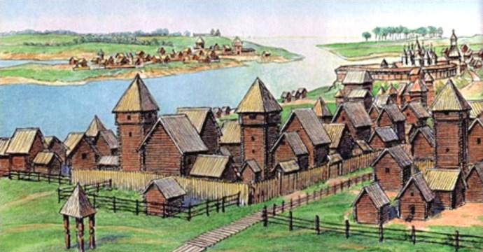 Древний Новгород, рисунок