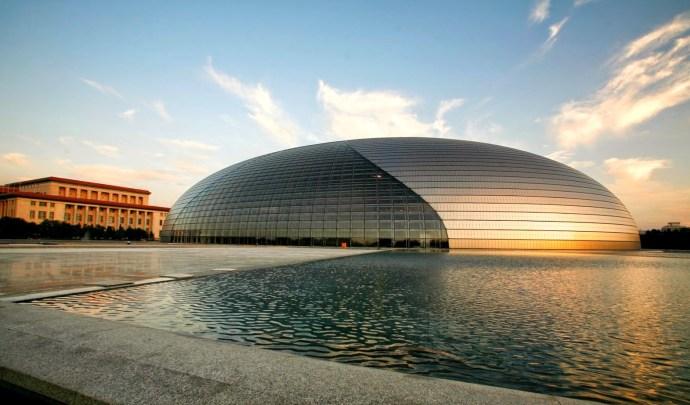 Национальный центр исполнительских искусств, Пекин, Китай