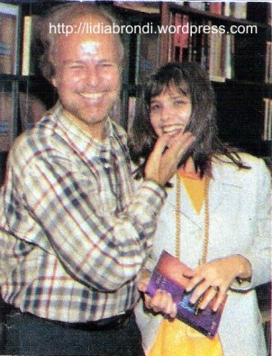 O pastor Jonas Resende e Lídia Brondi, em 1997