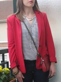 Veste La Redoute, collier Six