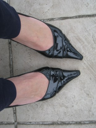 Chaussures cuir vernis Italy