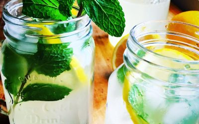 Sunny Days and Mint Lemonade