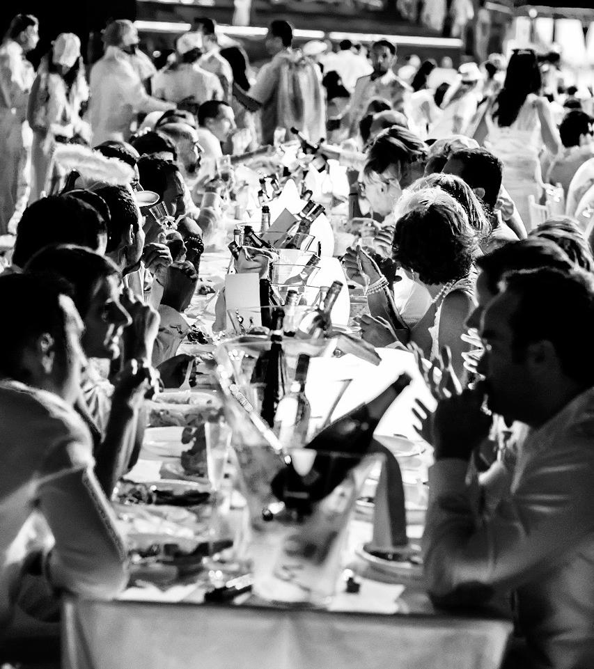secret white dinner party, lidijas kitchen, food