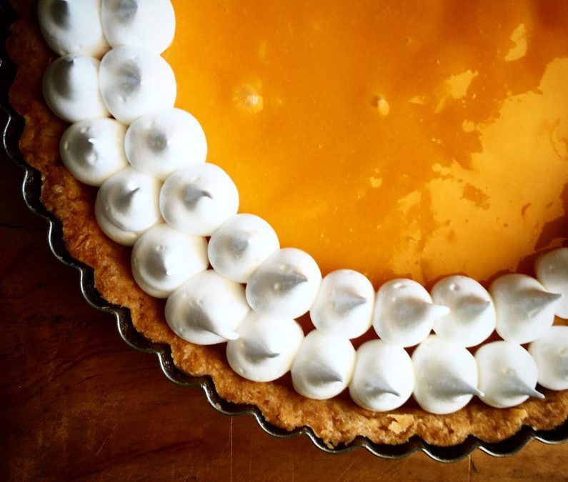 Passion Fruit Meringue Tart Recipe