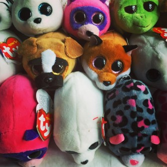 party bag favors stuffed animals