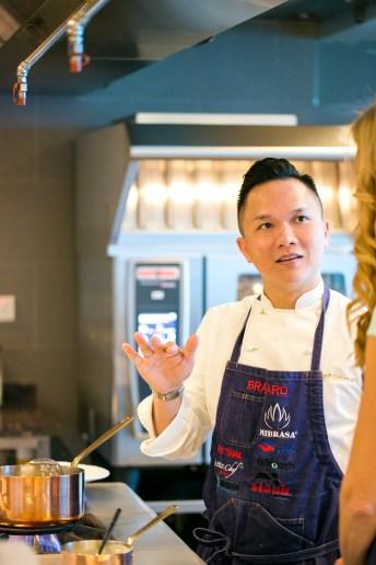 reif othman in the kitchen shot