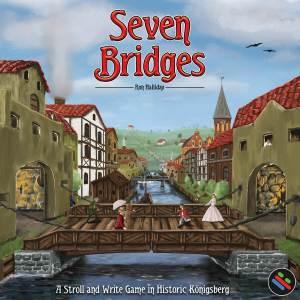 Neue Spiele aus Lateinamerika, Teil 16/2019 - Seven Bridges