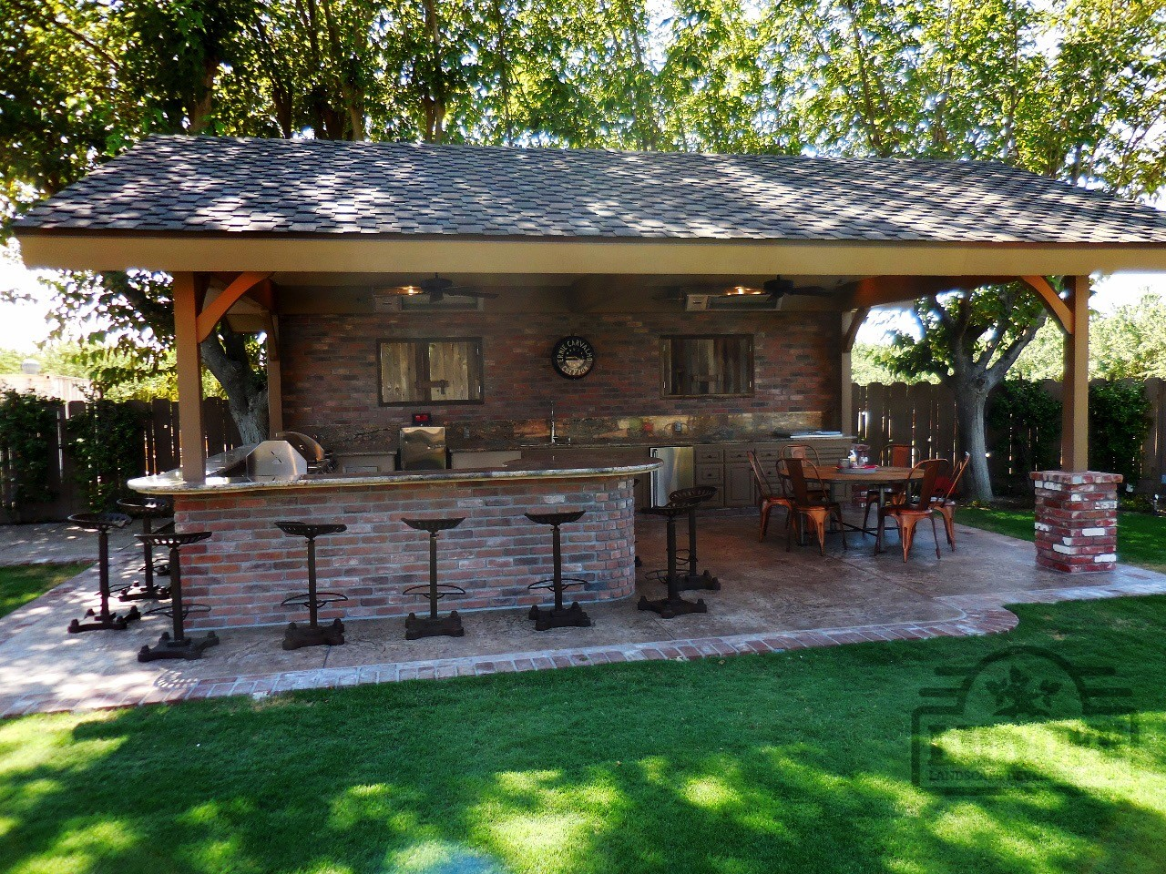 Outdoor Kitchens | Lidyoff Landscaping Development Co. on Patio Kitchen  id=57673